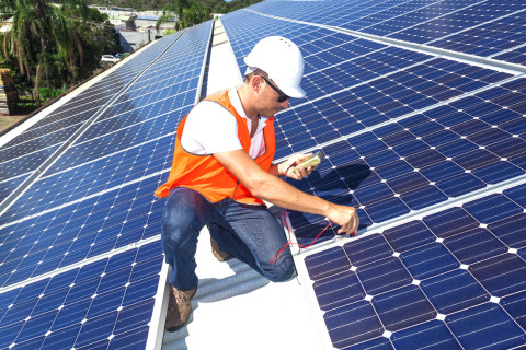 Solaranlagen<br />Montage, Installation